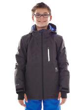 Brunotti Skijacke Snowboardjacke Funktionsjacke grau Thyone JR 8k warm