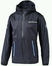 BRAND NEW!!! PUMA 761709 Mens BMW MSP Windbreaker JacketTeam Blue- Choose Size/C