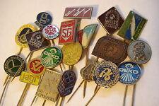Yugoslavia Yugoslavian Lot 20 Badges Pin  Communist Factory Company Brass SFRJ S