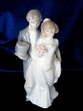 LLADRO #6164 WEDDING BELLS BRAND NIB BRIDE & GROOM LOVE $105 OFF FREE SHIPPING