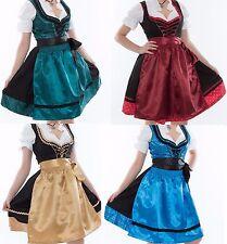 NEU Dirndl Set 3tlg. Dirndl-Set Trachtenkleid Kleid Bluse Schürze Gr. 32 bis 60