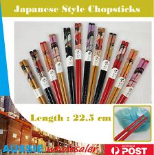 New Au Japanese Style Chopsticks Natural Food Wood Chopsticks