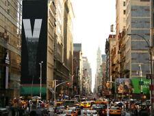Manhattan New York City Street Cars Traffic Huge Giant Print POSTER Affiche