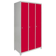 Metal Lockers Flatpack Storage Locking School Gym Dressing Room