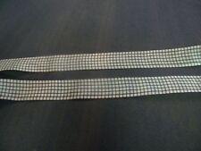 ruban ecossais bleu largeur 2.5cm mercerie neuf
