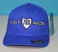 ATV CUSTOM PERSONALIZED HAT NUMBER PLATE CAP JUST RIDE RACE QUAD 4 WHEELER
