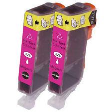 2 Non-OEM Canon CLI-526M Magenta Printer Ink Cartridges 4542B001