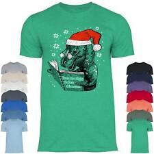 Herren T-Shirt Atheist Weihnachten Ugly Christmas Dino