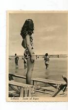 BELLARIA BELLA DONNA SU MOSCONE DA BAGNINO RIMINI 1951