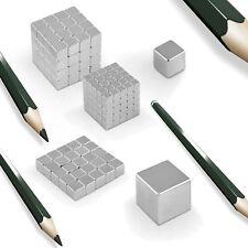 Neodym Magnete Würfel bis 3-50mm NdFeB N45 N52 Pinnwand Magnet Magnettafel