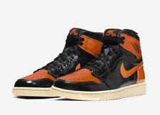 Air Jordan 1 Retro High OG Shattered Backboard 3.0 Men's Black Starfish Shoes