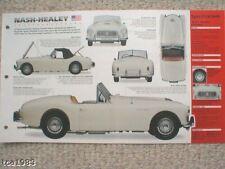1951/1952/1953/1954 NASH-HEALEY SPEC SHEET/Brochure