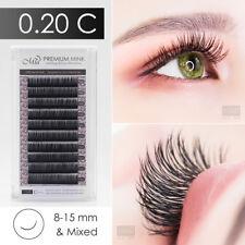 [0.20 C] Mia Synthetic Mink Lash Individual Eyelash Extension Semi Permanent