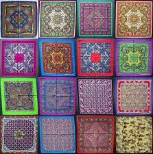 Cuello Bufanda Paisley Pañuelo Cabeza Bufanda Pañuelo Colorido muchos colores de algodón
