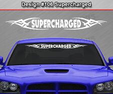 Design #140 Tribal Swoosh Windshield Decal Back Window Sticker Graphic Banner