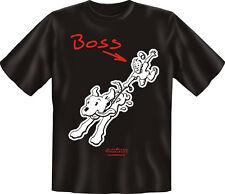 T-Shirt Fun-Shirt Herrchen Halter Dog Hundeboss Hund S -  XXXL