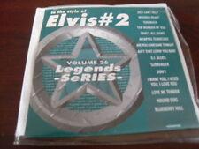 LEGENDS KARAOKE CD+G VOL 026 ELVIS PRESLEY VOL 2  NEW SALE