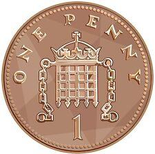 1971-2017 Regno Unito GB decimale 1P una pence MONETE PENNY-selezionare le date da elenco