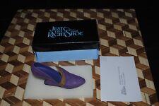 "Just the Right Shoe Miniature Italian Racer Purple Pump #25003 w Box 4"" 1998"