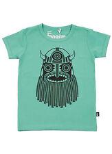 DANEFAE T-Shirt Schamane shaman grün Maske cool Gr. 104 116 128 140