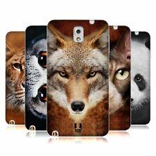 HEAD CASE DESIGNS ANIMAL FACES SOFT GEL CASE FOR SAMSUNG PHONES 2