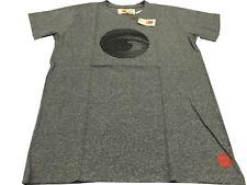 BAKUTO 893 t - shirt uomo mezza manica grigio melange MADE IN Italy OCCHIO