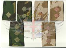 BRITISH ARMY SURPLUS DPM & DESERT DPM RANK SLIDE,2nd LT, LIEUTENANT, CAPTAIN