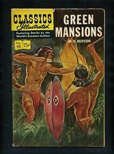 Classics Illustrated 90 (HRN 165) Green Mansions 1960's Gilberton Comic Book