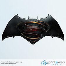 Batman Vs Superman Dawn of Justice Wall Decal Sticker Bedroom Vinyl Kids Logo