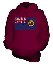 WESTERN AUSTRALIA SCRIBBLE FLAG UNISEX HOODIE TOP GIFT AUSTRALIAN FOOTBALL