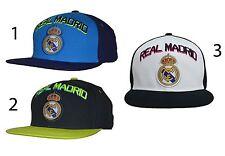 Real Madrid Fc Snapback Cap Hat Cristiano Ronaldo By Rhinox