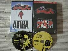 DVD MANGA PELICULA AKIRA EDICIÓN ESPECIAL 2 DISCOS COMPLETO USADO BUEN ESTADO