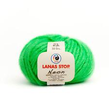 """50 GR. """"Neon"""" lana mano truco Garn rápidamente truco Garn para tejer ganchillos"""