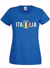 T-shirt Maglietta donna J1665 Italia Rugby Sei Nazioni Maglia Terzo Tempo Beer