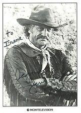 James Arness   Autograph , Hand Signed Photo