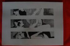 Estampe Japonaise XXè - Erotique - TORII KIYONAGA - Pl.25 - Repro de 1961
