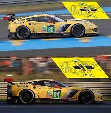 Calcas Chevrolet Corvette C7R Le Mans 2016 1:32 1:24 1:43 1:18 C7 R slot decals