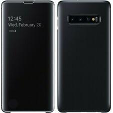 Clear View Cover Case für Samsung Galaxy S10e S10 S10 Plus Hülle Handyhülle Etui