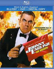 Johnny English Reborn (Blu-ray/DVD, 2012) Free Shipping!