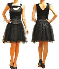 BNWT CUE Silk Origami Bow Tulle Dress Sz 6 8 10 RRP$379