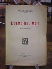 (LETTERATURA) ANATOLE FRANCE: L'OLMO DEL MAIL