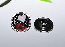 Button Druckknopf +++ große AUSWAHL / THEMEN +++ Wechsel für Armband Ring Kette