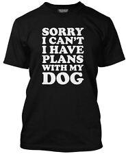 Lo siento no puedo Tengo planes con mi perro presente Para Propietario De Perro T-Shirt