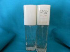 WHITE MUSK FOR WOMEN PERFUME / COLOGNE BY JOVAN, 2.0 fl oz EA X 2, NEW NO BOX