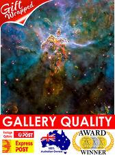 NEW Carina Nebula Wide View, NASA Space, Hubble, Giclee Art Print or Canvas