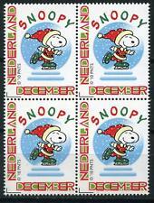 Nederland 2777 Persoonlijke decemberzegel 2010 blok v 4 Snoopy - comic