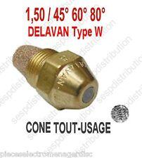 Gicleur DELAVAN Type W débit 1,50 angle 45° 60° 80° pour chaudière fioul