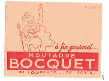 Buvard - Moutarde Bocquet. ETAT NEUF (réf. 64/27)