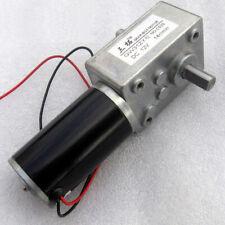 GW31ZY Dual output shaft Worm gear Worm Geared motor 12V-24V Metal Gear Box DIY