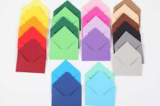 Mini Briefumschläge Umschläge Umschlag Geldgeschenk Farbe wählbar Kuverts